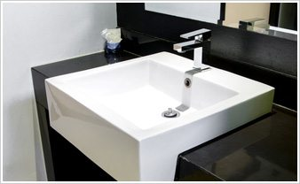 ... bathroom style, the trick is finding the right options to complement  your interior design. Whether you prefer a pedestal sink or a wall-mounted  variety, ...