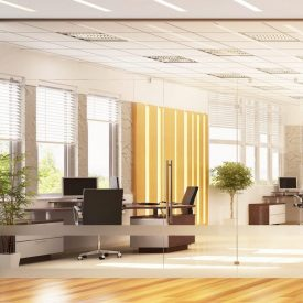 Modern and large office