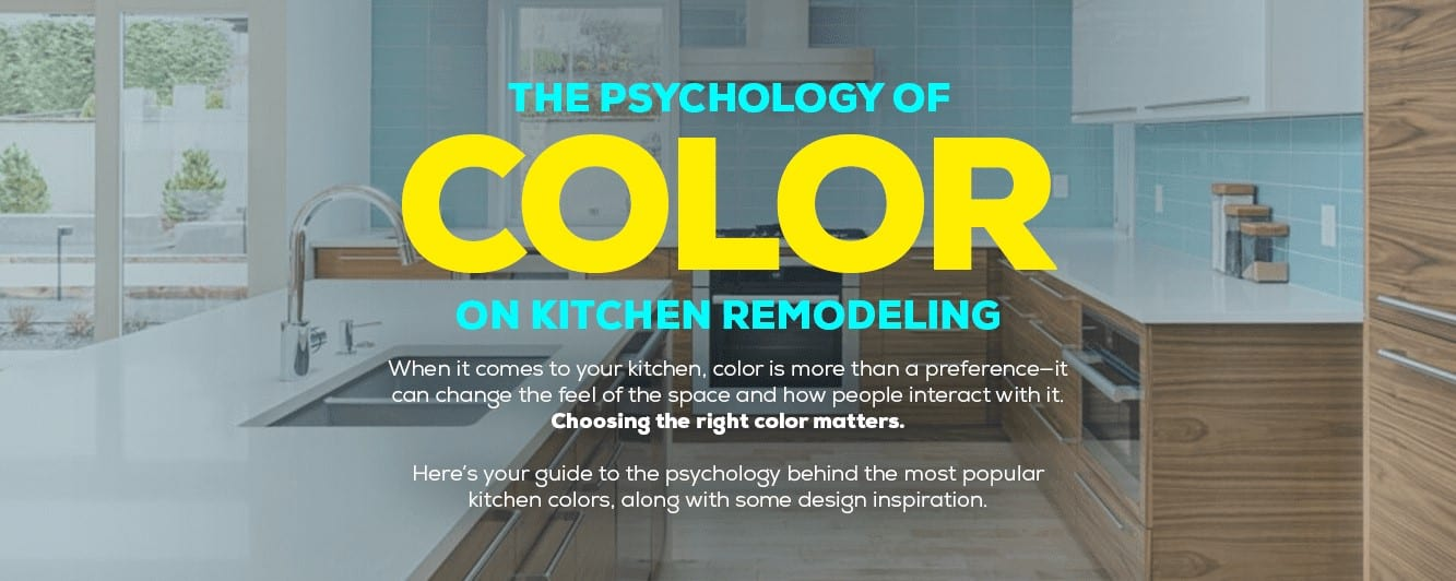Make your kitchen come alive with the right use of color