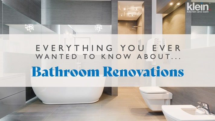 Everything you ever wanted to know about bathroom renovations